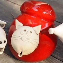 Chat céramique Tony