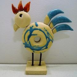 Poule céramique Bagel