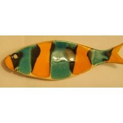 coupe allongée poisson murale ou à poser
