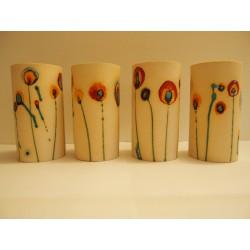 """vase céramique """"fleurs"""""""