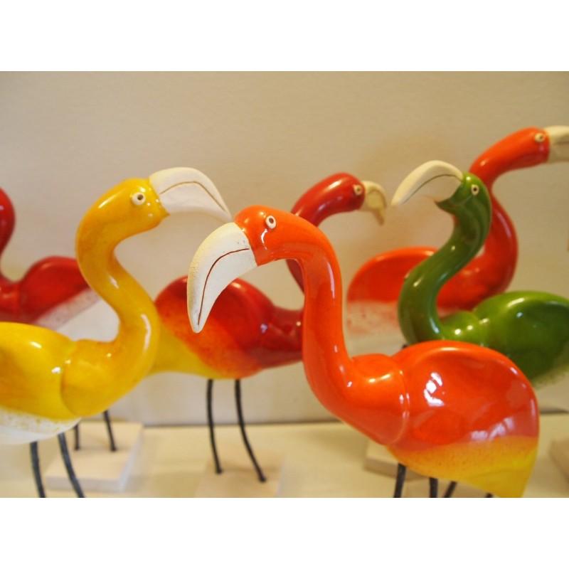 Flamant Roseline céramique