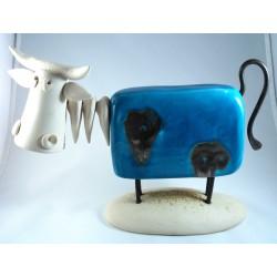 Vache grand modèle Patsy en céramique