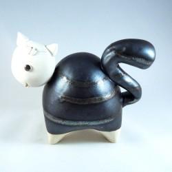 Chat céramique ZigZag