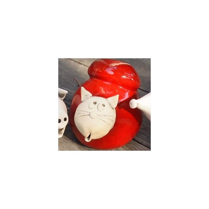 Chat céramique NafNaf