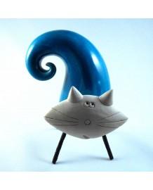 Chat céramique Moris 4 pieds