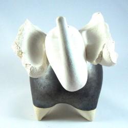 Eléphant céramique joyeux