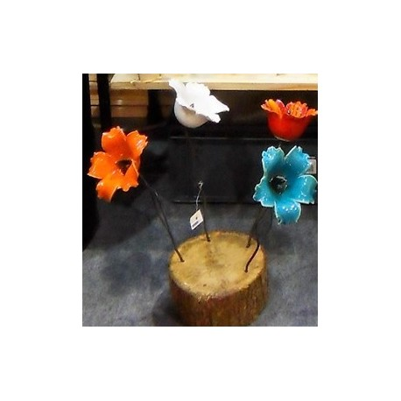 Hibiscus céramique