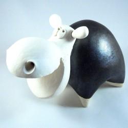 Hippopotame céramique Nestor