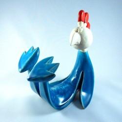 Coq sportif céramique