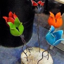 Tulipe céramique