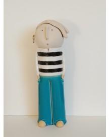 Moussaillon rasé pantalon bleu