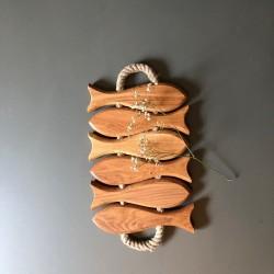 Dessous de plat 6 poissons