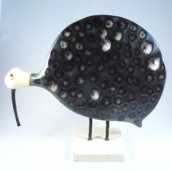 Pintade grand modèle Ursula céramique