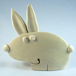 Lapin céramique Roger