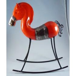 Cheval céramique grand modèle Japp