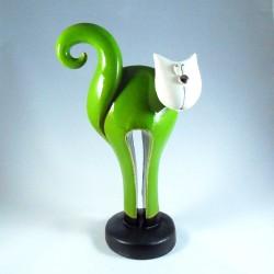 Chat Gisele céramique